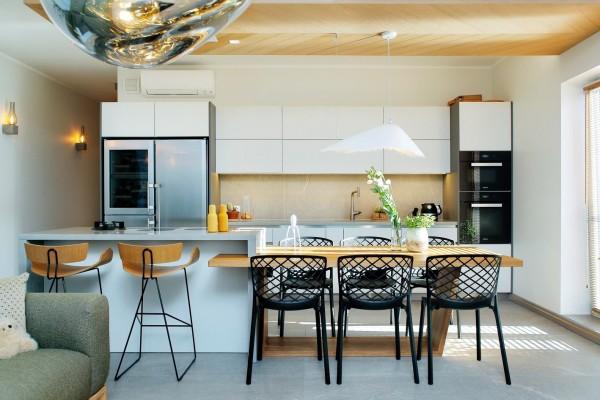 Pilt 2 - Köök-söögituba sisekujundus