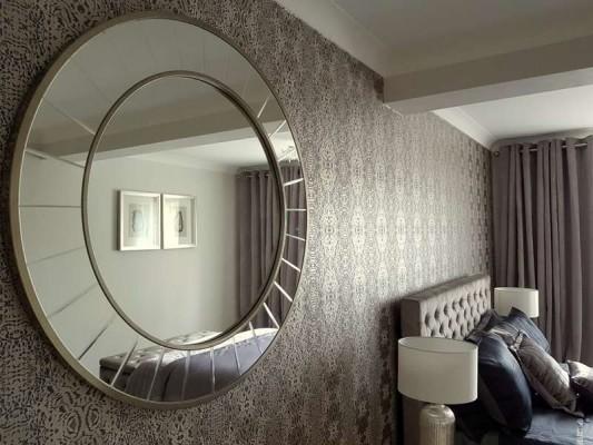 Sisekujundaja Monika Kask kujundatud korter Londoni äärelinnas