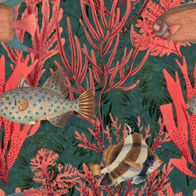 Pilt 16 - Jane McIntyre Design - Mind The Gap Wallpaper - The Undersea
