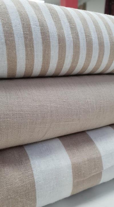 Pilt 4 - Kvaliteetne linane kangas sobib hästi roomakardinate tegemiseks.