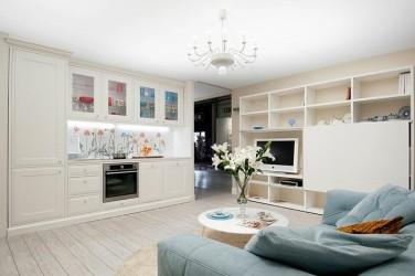 112 - Klassikaline sisekujundus - väike korter 2011 (Hrushtshovka, 50 m2)
