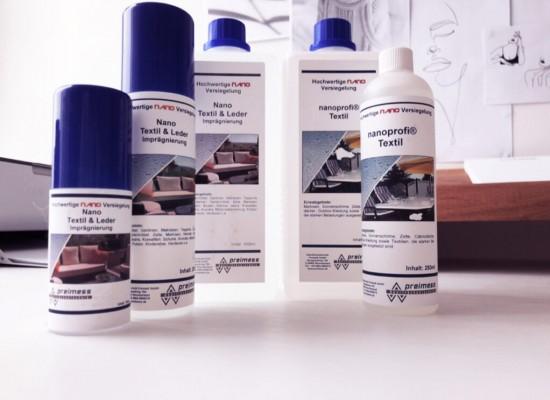 Pilt 2 - Nano naha ja tekstiili kaitsevahendeid - tõhus niiskuse- ja plekikaitse.