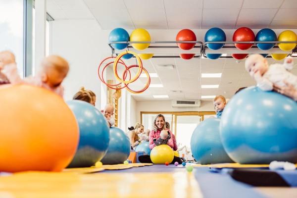 Pilt 46 - Babysport beebide spordikeskus. Ülemiste tervisemaja - foto Marek Metslaid