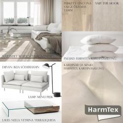 Pilt 2 - HarmTex aitab valida sobilikud kardinad ning vajadusel ka muud vajalikud esemed, et siduda ruum ühtseks tervikuks!