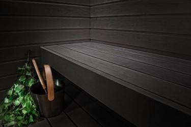 2 - Musta värvi sauna leiliruum? Aga miks mitte!
