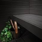 Musta värvi sauna leiliruum? Aga miks mitte!