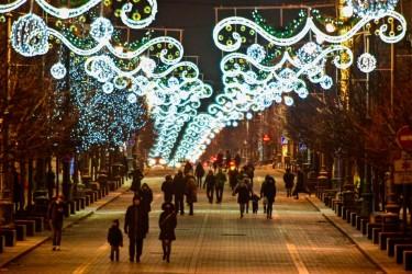 Pilt 8 - Vilniuse jõuluvalgus