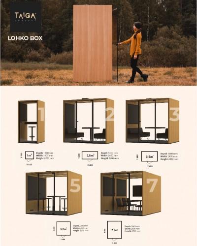 Pilt 7 - Lohko vaikne ruum - 5 erinevat võimalust