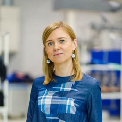 Tekstiiliettevõtte Lindström turundusjuht Oksana Skorbatjuk