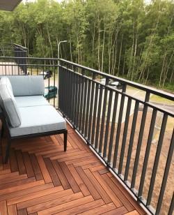 6 - Puidust moodulpõrand - hea valik rõdule, terrassile ja sauna