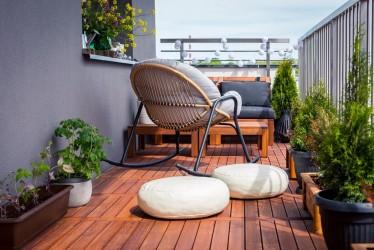 12 - Puidust moodulpõrand - hea valik rõdule, terrassile ja sauna
