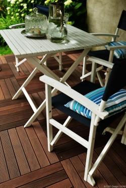 4 - Puidust moodulpõrand - hea valik rõdule, terrassile ja sauna