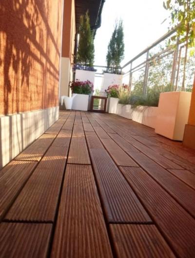 Puidust moodulpõrand - hea valik rõdule, terrassile ja sauna - 6