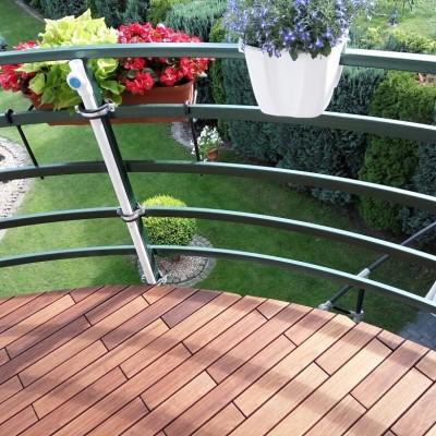 Puidust moodulpõrand - hea valik rõdule, terrassile ja sauna - 8