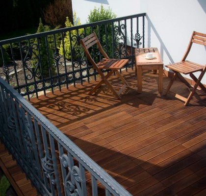 Puidust moodulpõrand - hea valik rõdule, terrassile ja sauna - 5