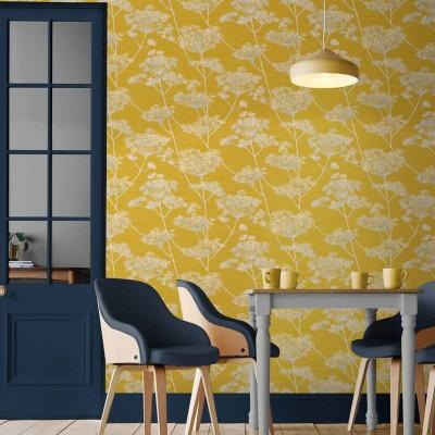 Pilt 8 - 2021. aastal on seinakatetel värvitoonidest suur favoriit kollane