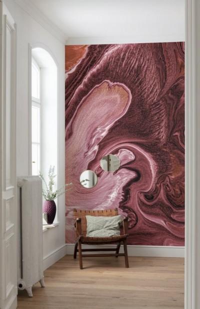 Pilt 5 - Rahustava mustriga seinakattega saab luua turvalise ja harmoonilise keskkonna.