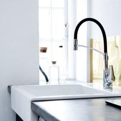 Pilt 11 - Köögikraan - Damixa Rowan kroom ja must
