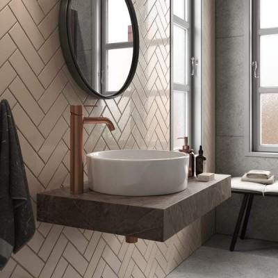 Pilt 12 - Vannitoakraan - Damixa Silhouet harjatud vask