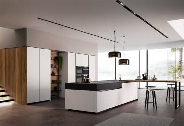 Pilt 2 - Köögitrendid 2021: klaasist püstak-vitriinid, riiulid, uued fassaadid