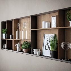 Pilt 10 - Köögitrendid 2021: klaasist püstak-vitriinid, riiulid, uued fassaadid