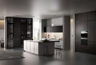Pilt 4 - Köögitrendid 2021: klaasist püstak-vitriinid, riiulid, uued fassaadid