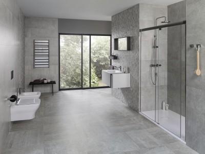 Moodsalt minimalistlik ja looduslähedane vannituba - foto Plaadipunkt - 11