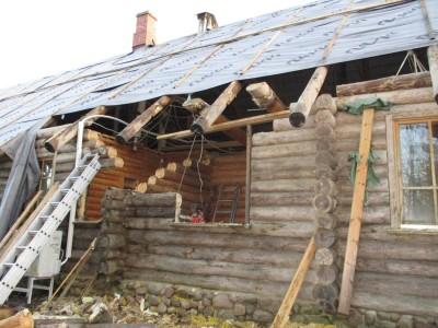 Korduma kippuvad vead palkmaja renoveerimisel - 6