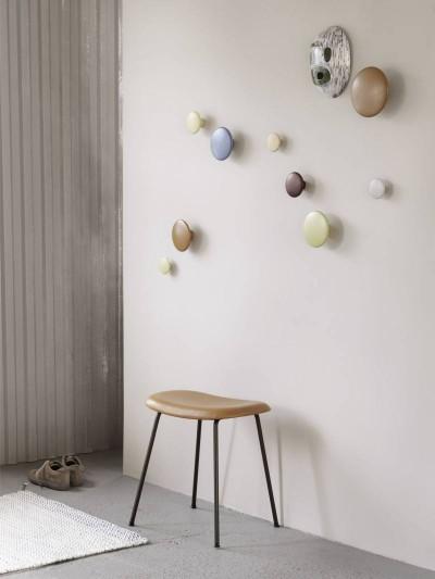 Pilt 7 - Puidust, metallist ja keraamikast The Dots nagidest saab seintele luua kordumatuid kunstiteoseid. Tootja: Muuto