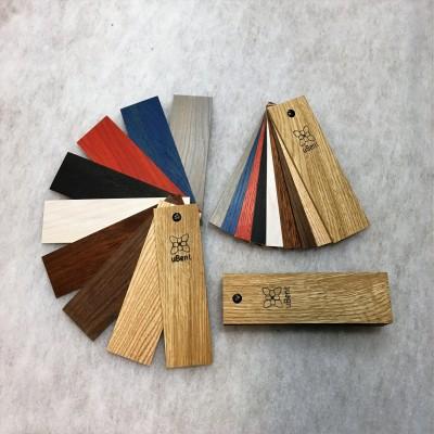 Painutatud puidu värvikaart - 1