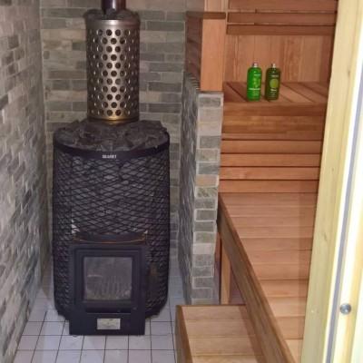 Puuküttega saunaahi - keris