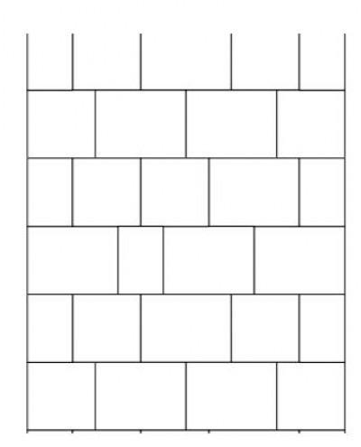 Torino tänavakivi - erisuuruses kividega rivi ladumine - 25