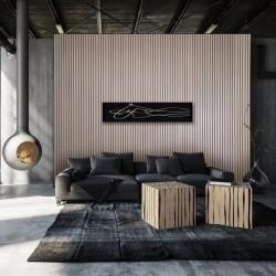 Akustilised puidust ribipaneelid seinte ja lae viimistlemiseks