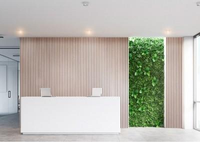 Helisummutusega sein büroos - 3