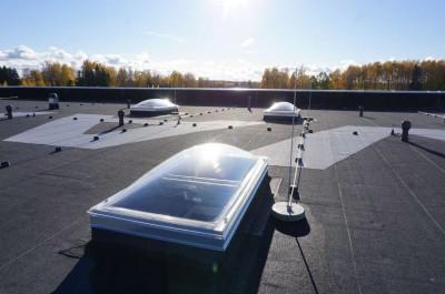 Bituumenrullmaterjalist katus - 1