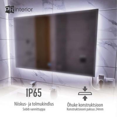 Niiskus- ja tolmukindel LED peegel - 3