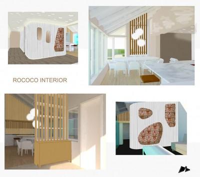 Siseruumi arhitektuurne ümber projekteerimine - uus lahendus - 1
