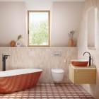 Värvide ja vormide sümfoonia vannitoas