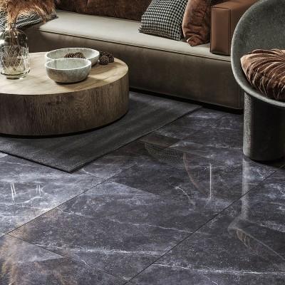 GoldenTile Terragres keraamilised põrandaplaadid elutoas - 2