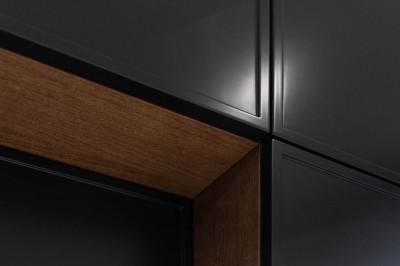 Köögimööbel - must fassaad ja puitspoon  - 4