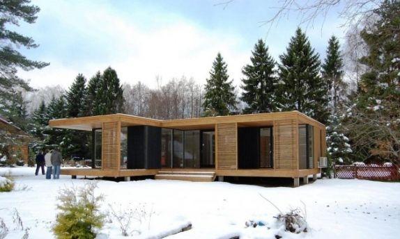 Aasta puitehitis 2009: moodulmaja Jõelähtmel