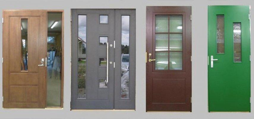 2 - ALTAAN OÜ autotallin ovet, ulko-ovet