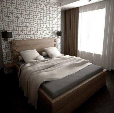 10 - Naturaalsest tammepuidust voodi, tootja Sisuko, disain Ako In