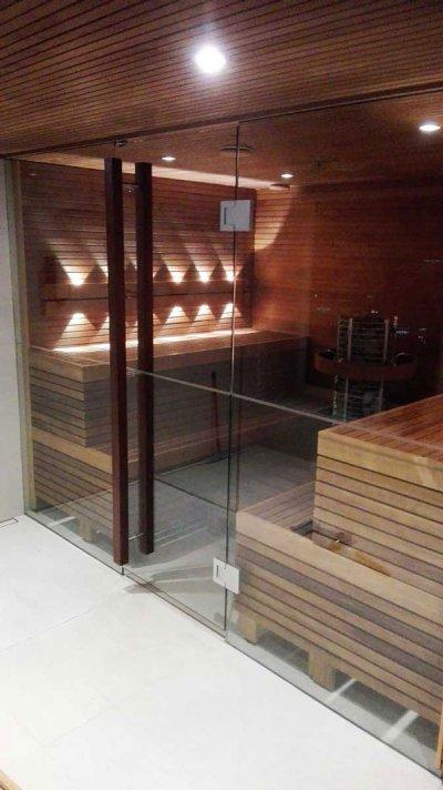 7 - Sauna valgustamine