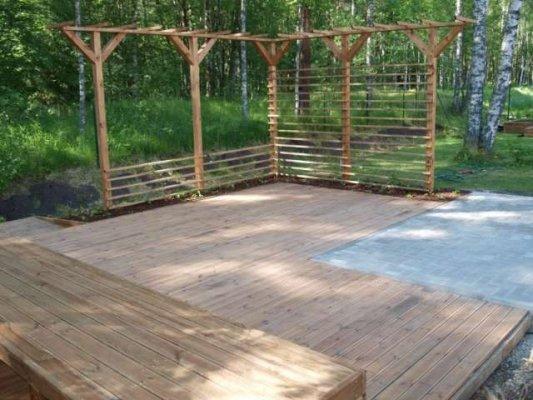 Pilt9-HARJUMAA HALJASTUS OÜ aiakujundusprojektid, haljastustööd, piirdaiad