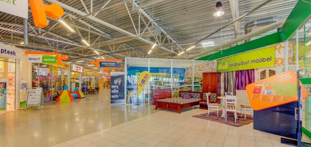 JÕE KESKUS OÜ mööbli- ja sisustuskeskus Tartus