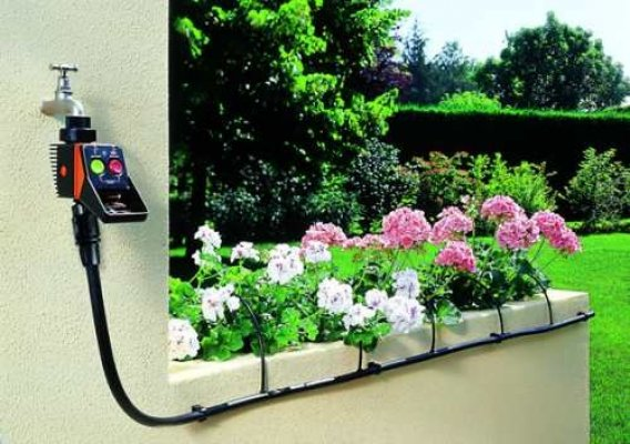 Tikkkastmissüsteem lilledele ja köögiviljataimedele