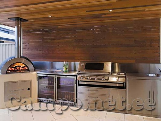 17 - GARDELINO OÜ pizza stoves, terrace fireplaces