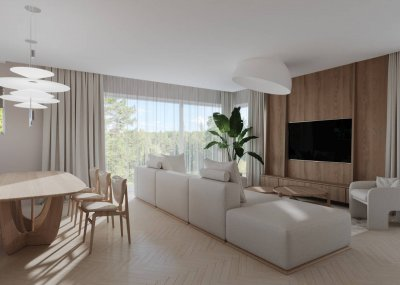 2 - Köök-elutoa sisekujundus DEZ Studio