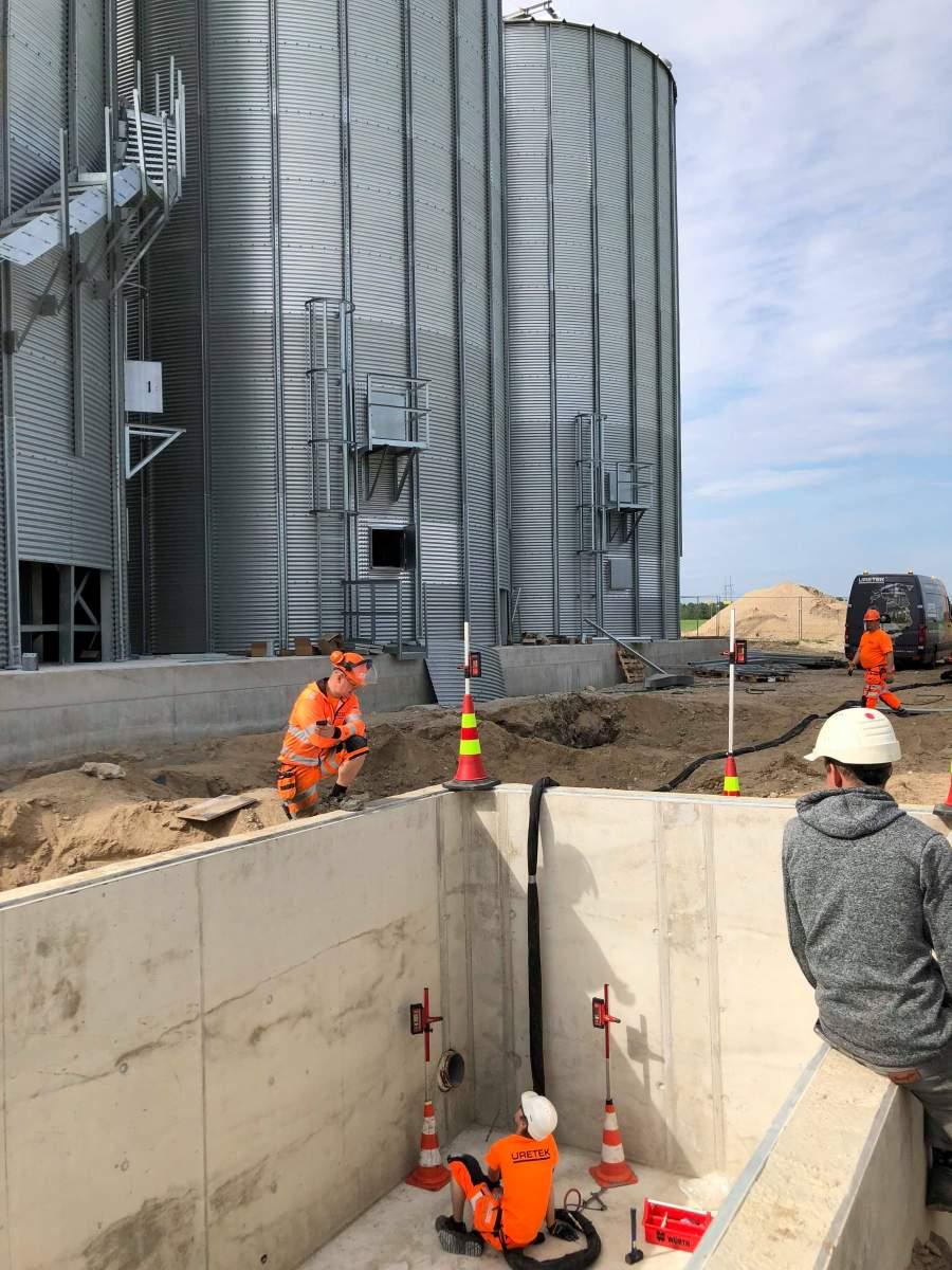 URETEK BALTIC OÜ geotehnilised inseneritöö, pinnase loodimine, vundamendi tõstmine